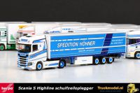 Herpa 308458 Spedition Höhner GmbH Scania S Highline