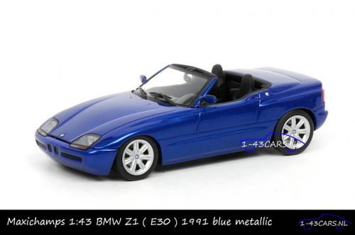 Maxichamps 940 020101 BMW Z1 1991 Blue metallic