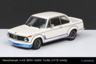 Maxichamps 940 022201 BMW 2002 Turbo 1973 White
