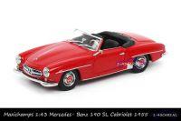 Maxichamps 940 033131 Mercedes Benz 190 SL Rood