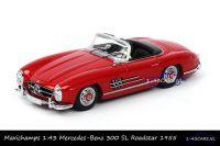 Maxichamps 940 039031 Mercedes Benz 300 SL Roadstar 1955 Red