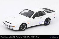 Maxichamps 940 066121 Porsche 924 GT 1981 White