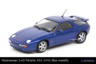 Maxichamps 940 068101 Porsche 928 GTS 1991 Blue metallic
