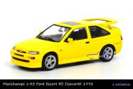 Maxichamps 940 082101 Ford Escort RS Cosworth 1992 Yellow