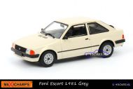 Maxichamps 940 085001 Ford Escort 1981 Grey