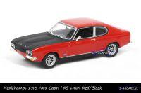 Maxichamps 940 085801 Ford Capri l RS 1969 Red Black
