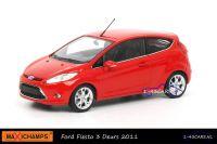 Maxichamps 940 088000 Ford Fiesta 3 Deurs 2011 Rood