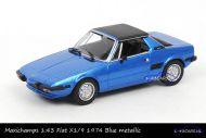 Maxichamps 940 121661 Fiat X1/9 1974 Blue metallic sportwagen