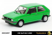 Minichamps 400 055100 VW Golf GLS 1980 Santos Green