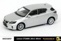 Minichamps 410 166001 Lexus CT200h 2011 Eissilber