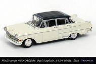 Minichamps 430 040008 Opel Kapitain 1959 White Blue