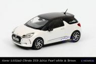 Norev 155260 Citroen DS3 2016 Pearl White and Brown