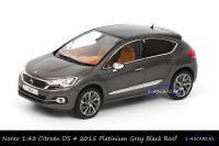 Norev 155456 Citroen DS 4 2015 Platinium Grey Black Roof