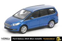 Norev 270539 Ford Galaxy 2015 Blue metallic
