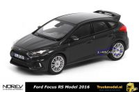Norev 270552 Ford Focus RS 2016 Darkgrey