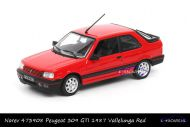 Norev 473908 Peugeot 309 GTI 1987 Vallelunga Red