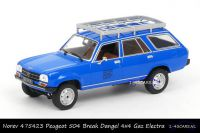 Norev 475423 Peugeot 504 Break Dangel 4x4 EDF GDF