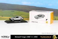 Norev 77 11 575 931 Renault Fuego GTL 1980 Zilver