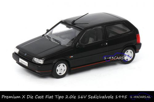 Premium X PRD455 Fiat Tipo 2.0ie 16V Sedicivalvole 1995 Black