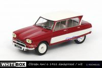 Whitebox WB155 Citroen Ami 6 1961 donkerrood en wit